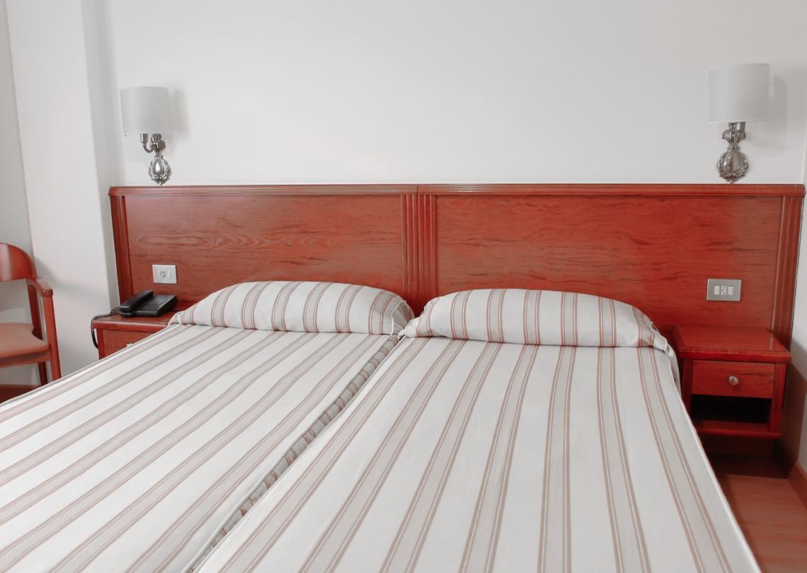 habitación simple 2 camas
